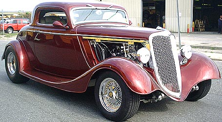 1934 Ford  Pro Street GM Big Block 200-4R Overdrive