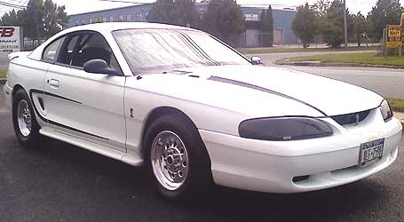 1994 Ford Mustang Pro Street/Strip 4STB-E (4R70W/AODE) - w/EOD & L/U (sml blk Ford)