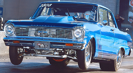 1965 Chevy Chevy II Nova Pro Competition GM Turbo 400 w/TB - Stage 1
