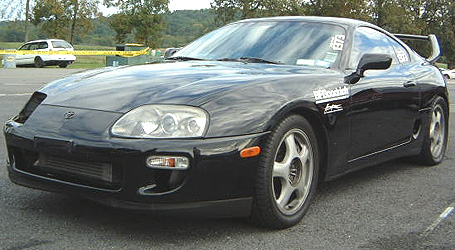1993 Toyota Supra Pro Street/Strip Overdrive 4STB (AOD) LTD. to motors w/GM adapter plate)