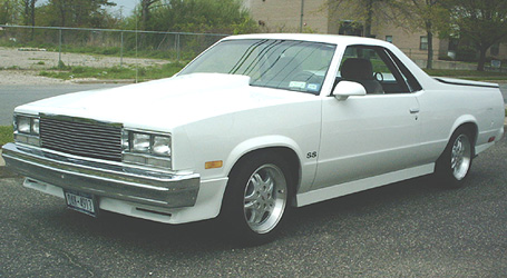 1986 Chevy El Camino Stock 200 4R  Overdrive
