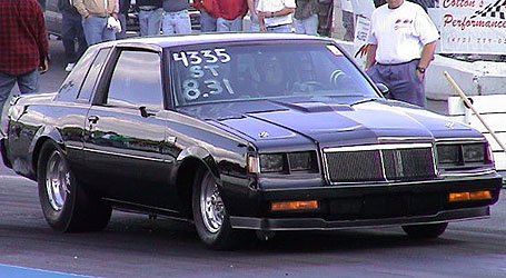 1986 Buick Grand National Pro Competition GM Turbo 400 w/TB - Stage 1